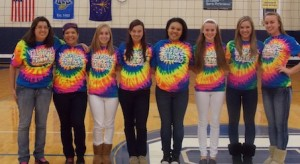 Volleyball Team Celebrates Senior Night
