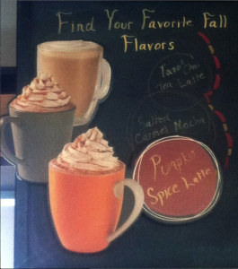 Starbucks Fall Flavors