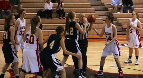 Girls Basketball: Park Tudor 38, University 20
