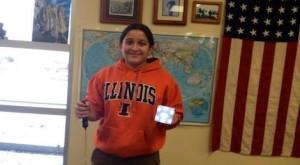 Academic Teammate of the Week: Monica Chavan