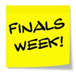 Seven Things You Should Know Going into Finals
