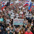 Protestors Gather in Moscow to Demand Free and Fair Elections