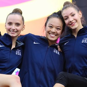 American Rhythmic Gymnastics Team Makes History